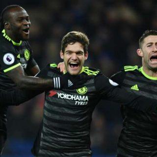 VIDEO: Leicester City 0 – 3 Chelsea [Premier League] Highlights 2016/17