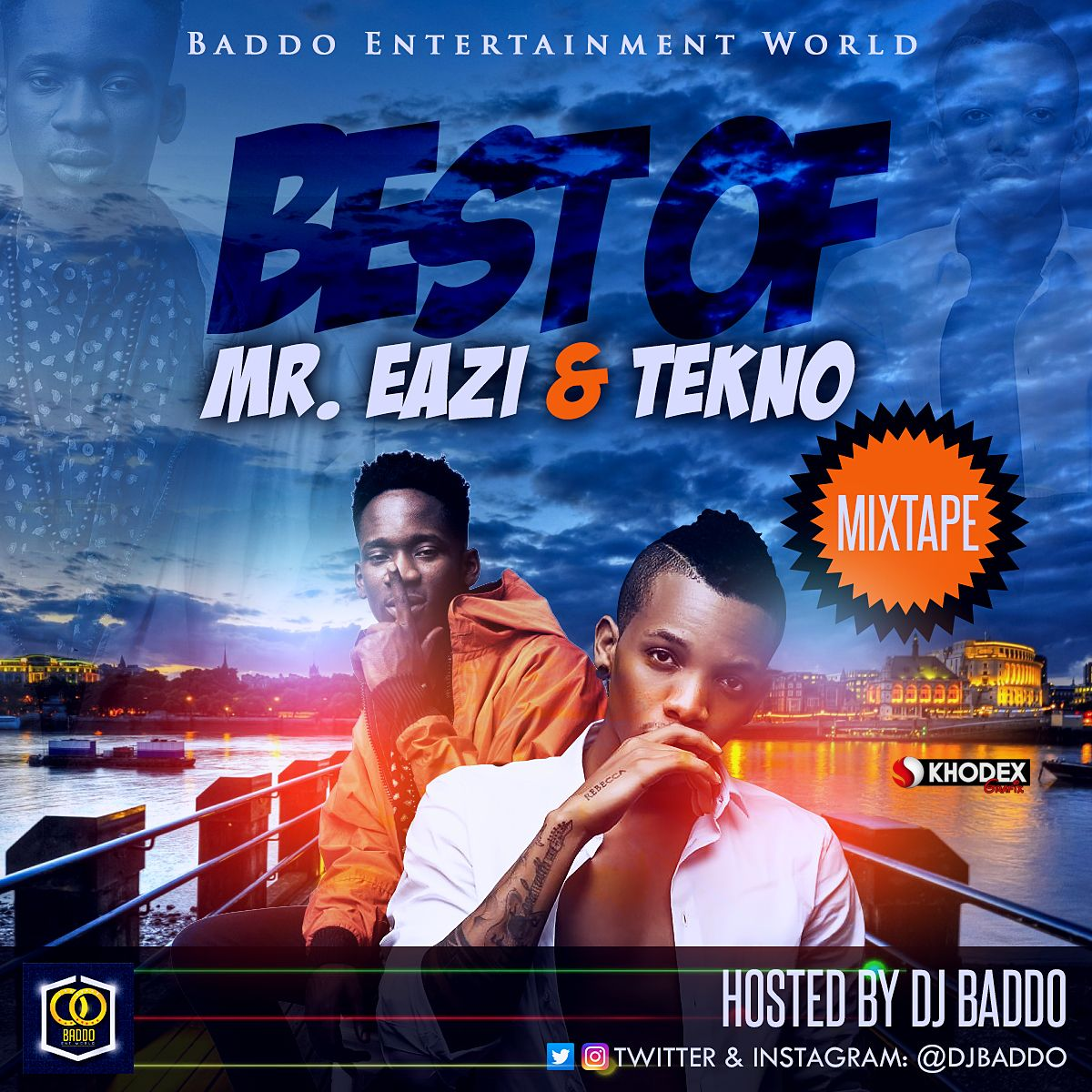 MIXTAPE: Dj Baddo - Best Of Mr Eazi And Tekno Mix