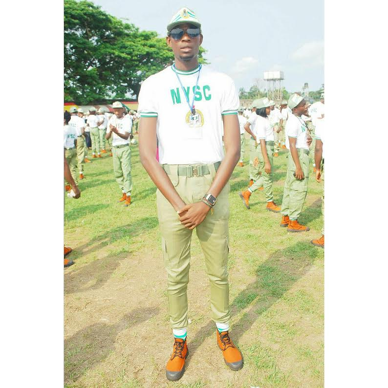 Meet The Tallest Male Corper In Nigeria