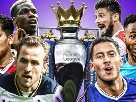 Premier League Fixtures 2017/2018 Season