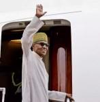 President Buhari Leaves US For UK