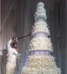Photo - Gucci Mane and Keyshia Kaoir's $100K Giant Wedding Cake