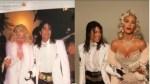 Kim Kardashian Channels Madonna And Kourtney Dresses As Michael Jackson in Halloween Costumes [Photos]