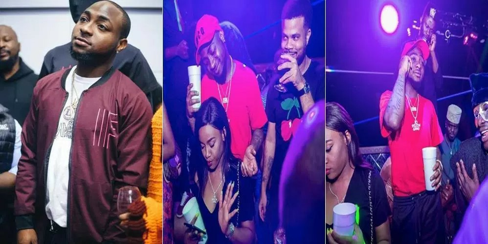Davido Finally Steps Out With New Girlfriend, Chioma [Photos]