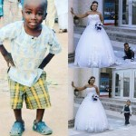 Two People Who Gained Fame Photobombing, Olajumoke and Oluwatobi, Are Gorgeous in New Wedding Photos