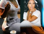 K.Michelle Shares First Pictures After Getting Rid of Her Butt Implants