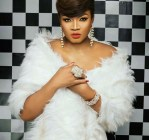 Check Out Omotola Jalade's Lovely 40th Birthday Cake