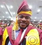 Nollywood Actor, Odunalde Adekola Shares Photo From His Convocation At UNILAG