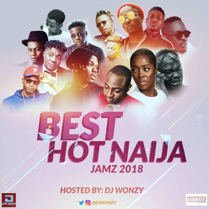 Dj Wonzy - Best Hot Naija Jamz 2018 Mix