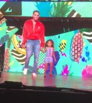Video: Chris Brown Brought His Daughter Royalty On Stage At His Concert