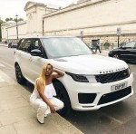 Billionaire Businessman, Femi Otedola Buys His Daughter DJ Cuppy A Brand New 2018 Range Rover Sport