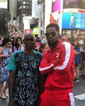 Patoranking Shares A Rare Photo With His Dad As They Holiday in New York