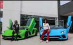 Cardi B And Offset Show off New Matching Lamborghini Cars