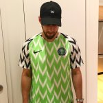 How A Nigerian Surprised An American With A Random Act of Kindness By Sending Him The Super Eagles Jersey