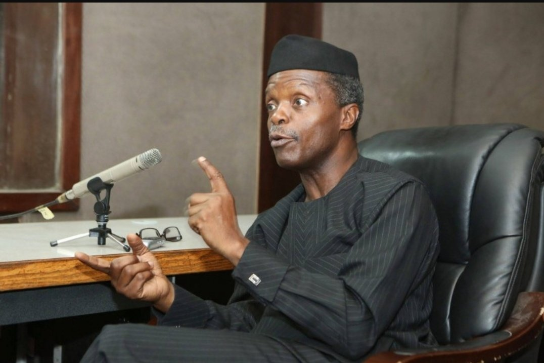 BREAKING: Acting President Yemi Osinbajo Orders IGP Idris To Overhaul SARS With Immediate Effect