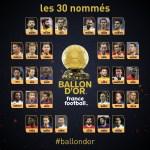 Modric, Ronaldo, Messi, Salah and Hazard Makes 30-Man Shortlist For 2018 Ballon d'Or Award