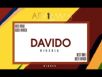 Davido Wins AFRIMMA's 2018 Best Male West Africa Award For The Third Time