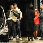 Cristiano Ronaldo Arrives At A London Hotel With His Girlfriend Georgina Rodriguez And Son Cristiano Jr [Photos]