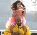 Kanye West And North Share Beautiful Daddy-Daughter Time During Museum Tour [Photos]