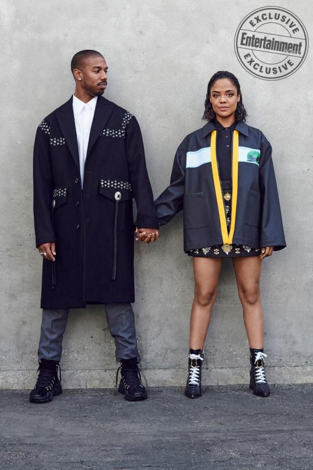 Michael B. Jordan and Tessa Thompson cover Entertainment Weekly new issue (Photos)