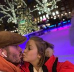 David Beckham And Daughter Share A Kiss But Internet Users Think it's Wrong