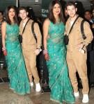Newlyweds Priyanka Chopra And Nick Jonas Arrive in Style To Celebrate Wedding Reception in Delhi [Photos]