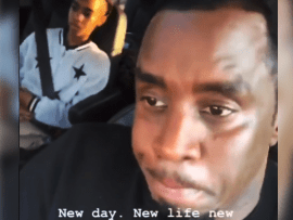 Diddy gives a shout out to single mothers and fathers after waking at 6 am to take his twins to school following death of their mother