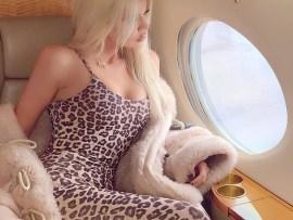 Khloe Kardashian flaunts her slender figure in leopard-print catsuit amidst report she