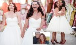Cross-dressing Man Ties The Knot Wearing Exactly The Same Wedding Dress As His Bride [Photos]