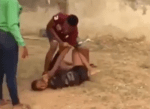 Viral Video of A Boyfriend Beating His Girlfriend Because She Allegedly Cheated On Him