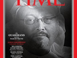 Jamal Khashoggi and other persecuted journalists become Time