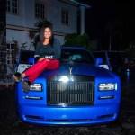 E-money Buys His Wife A Rolls Royce Phantom As Her 2018 Christmas Gift [Photos]