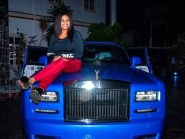 Billionaire businessman, E-money buys his wife a Rolls Royce Phantom as her 2018 Christmas gift(photos)