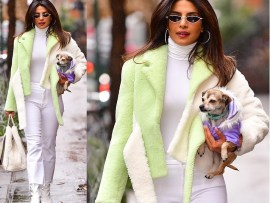 Priyanka Chopra steps out in style as she