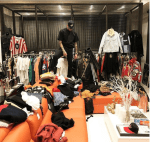 Chris Brown Shows off His Closet As He Complains He's Out of Space