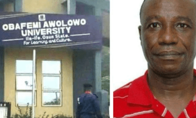 Breaking: OAU ?sex-for-marks? lecturer, Richard Akindele sentenced to two years in prison