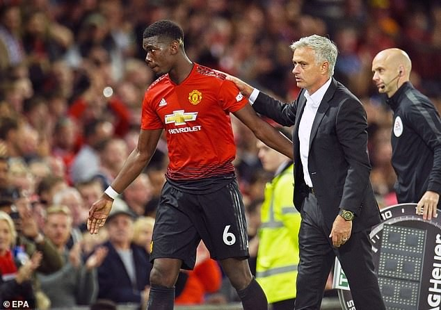 See Paul Pogba's Reaction After His Coach Jose Mourinho Was Sacked This Morning