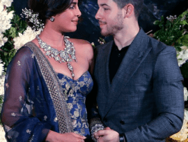 "Priyanka Chopra and Nick Jonas share photos from their second ""more personal"" wedding reception in Mumbai"