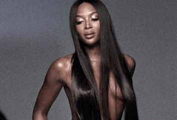 Naomi Campbell goes topless in photoshoot for NARS campaign