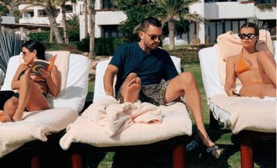 Scott Disick takes his ex-Kourtney Kardashian and current girlfriend Sofia Richie to Mexico for family vacation (Photos)