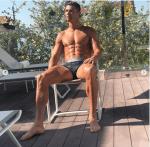Cristiano Ronaldo Flaunts His Hot Physique As He Strips Down To His Briefs [Photos]