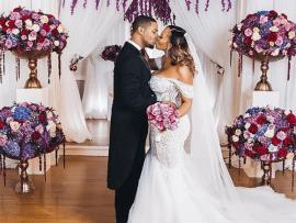 Newly married couple Juelz Santana and Kimbella share beautiful wedding photos
