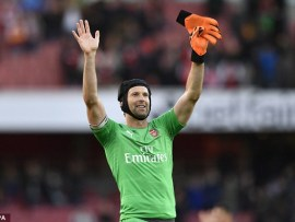 Chelsea legend and current Arsenal keeper Petr Cech announces he