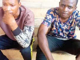 2 church guards arrested for allegedly stealing pastor