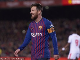 Lionel Messi reveals his favourite goal of all time out of his 400 goals for Barcelona in La Liga