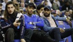 Photos: Arsenal And Chelsea Football Stars Storm The O2 Arena To Watch A Basketball Game