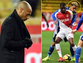 Arsenal legend Thierry Henry is forced to apologise for calling a player