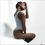 BBNaija Star Khloe Flaunts Her Backside in Skimpy Swimsuits [Photos]