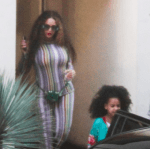 Photos: Beyonce And Blue Ivy Spotted Out in Los Angeles