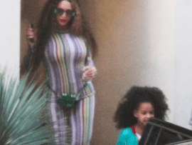Beyonce and Blue Ivy spotted out in Los Angeles (photos)